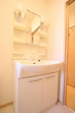 グランコート南里 A A101号室の洗面所