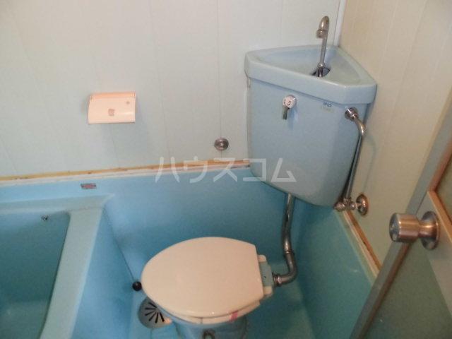 スリム箱崎 306号室のトイレ