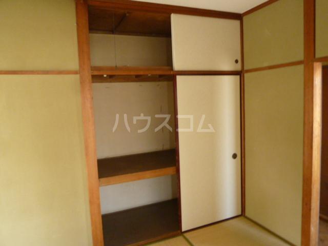 菊水荘 201号室の収納