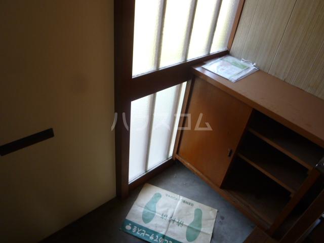菊水荘 201号室の玄関