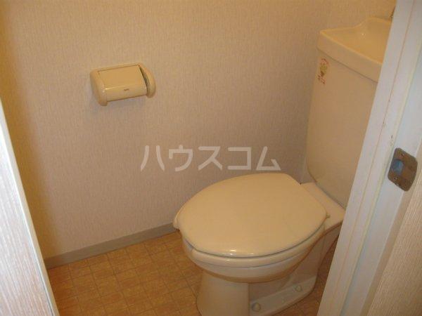 スプリームハイツ A103号室のトイレ