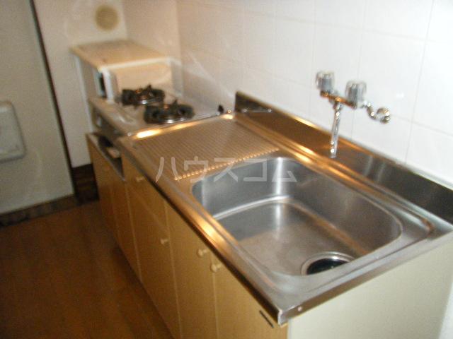 エテルノ聖蹟 206号室のキッチン
