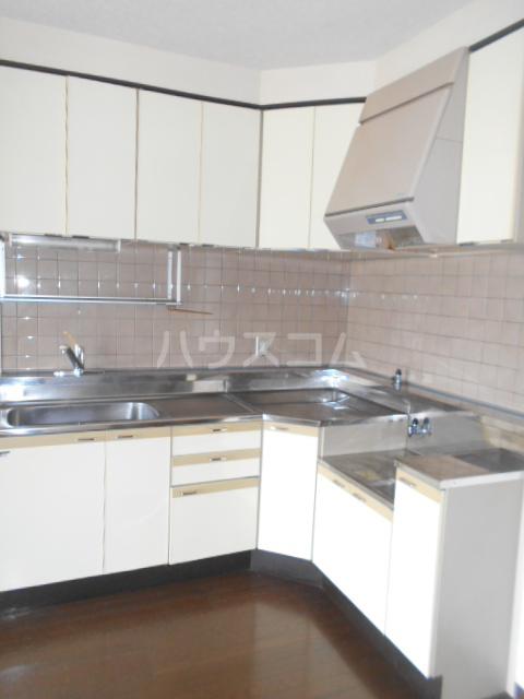 ノーブル貝取 302号室のキッチン