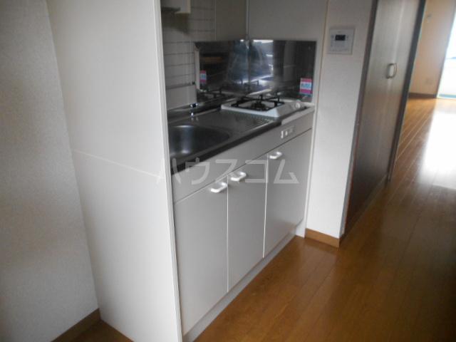 ウエストヴィレッジ 205号室のキッチン