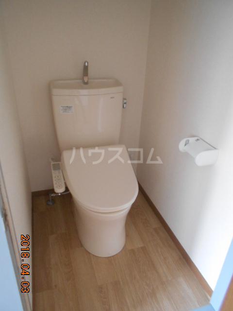 ハウス太田第2 112号室のトイレ