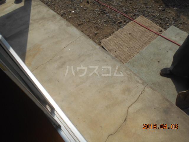 ハウス太田第2 112号室のバルコニー