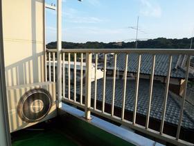 アメニティ南陽台 207号室のバルコニー