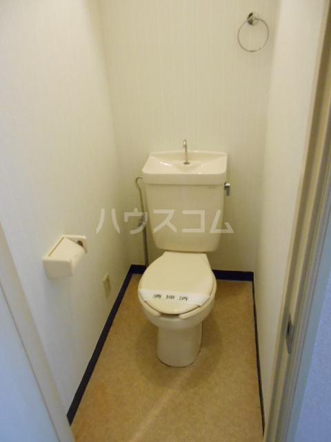 グリーンウッドⅠ 203号室のトイレ