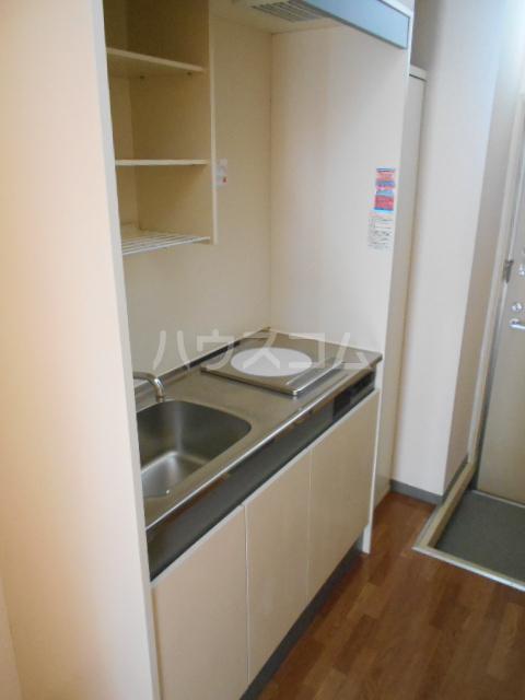 グリーンウッドⅡ 102号室のキッチン