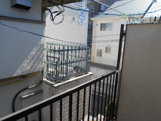ヴィラ永山 202号室の景色