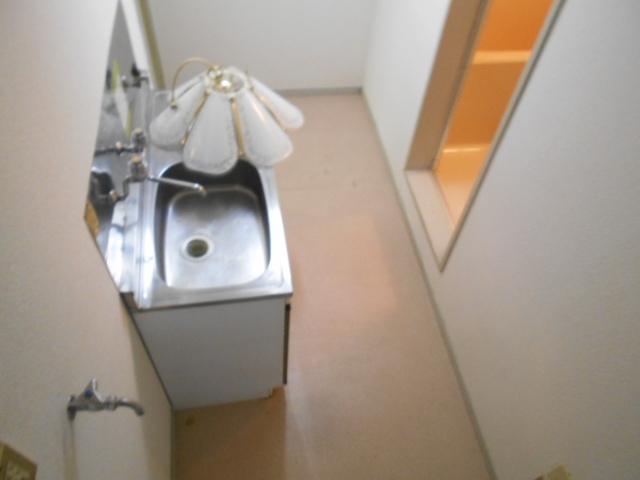 セフィール程久保 107号室のキッチン
