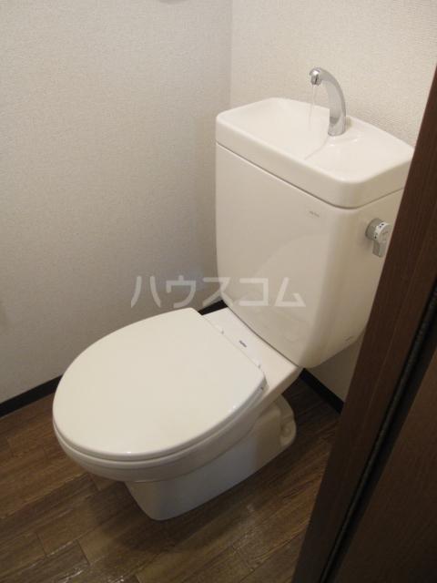 セフィラHigh Field B-205号室のトイレ