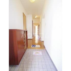 エルベマノワール 110号室の玄関