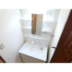 エルベマノワール 110号室の洗面所