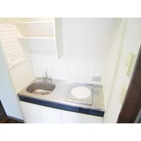 エクセルホワイト与野 201号室のキッチン