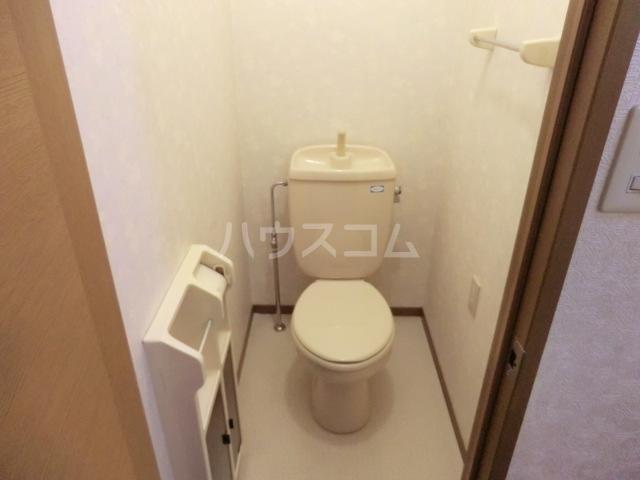 メイプル 202号室のトイレ