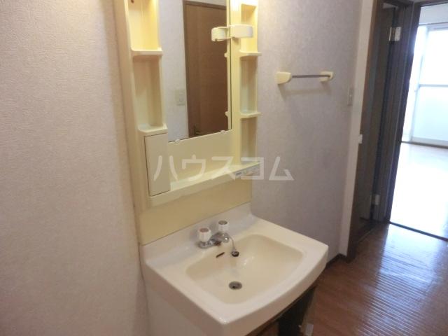 メイプル 202号室の洗面所