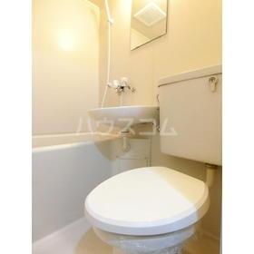 KSハイツ北浦和 304号室のトイレ
