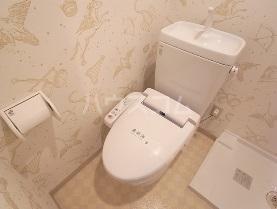 プリマヴェーラ北浦和 405号室のトイレ