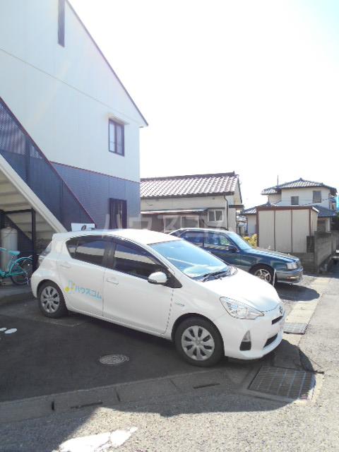 コーポ増田A棟 101号室の駐車場