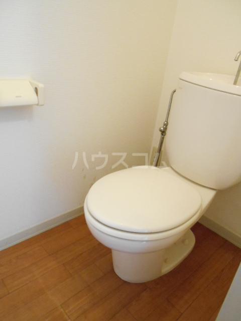 コーポ増田B棟 201号室のトイレ