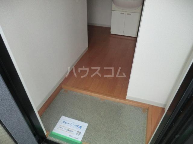 コーポ増田B棟 201号室の玄関
