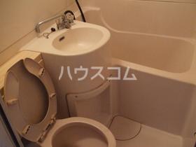 韮沢マンション 306号室のトイレ
