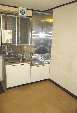 松原コーポ 101号室のキッチン