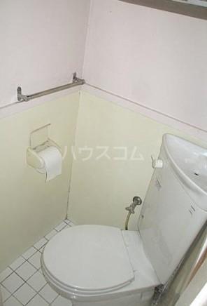 松原コーポ 101号室のトイレ