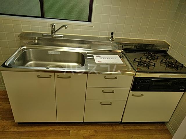 モンド大岡山パーク 205号室のキッチン