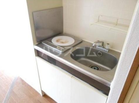 ラ・レジダンス・ド・ヴァロワール 504号室のキッチン