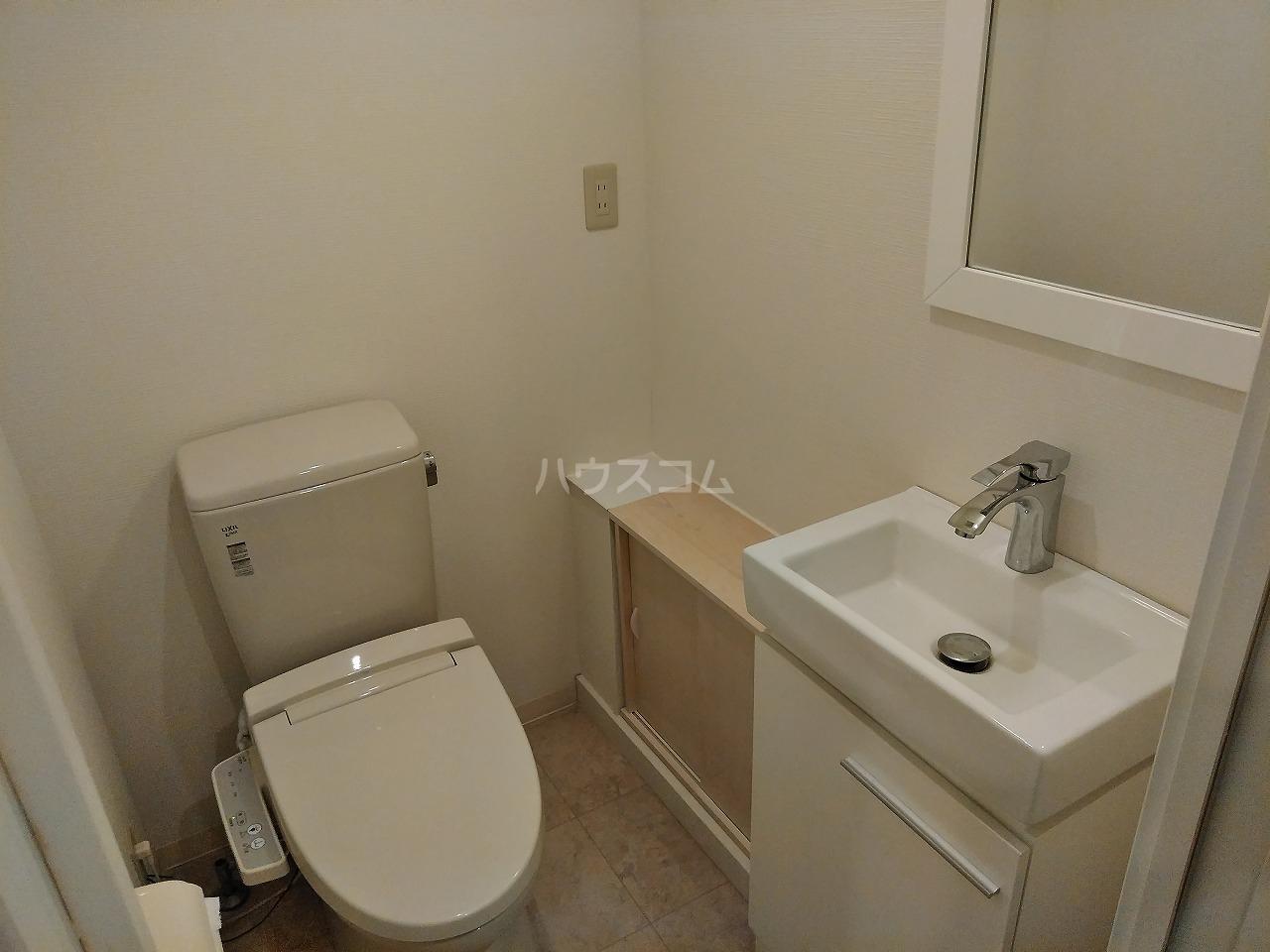 アーバンハイツ大岡山 201号室のトイレ