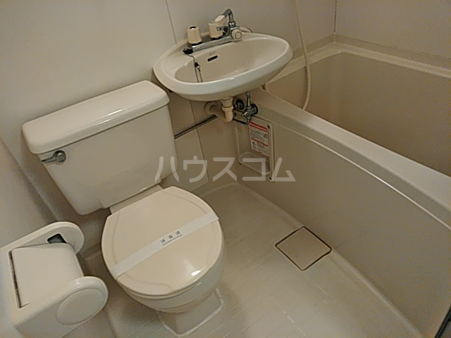 シングルス大岡山 104号室のトイレ