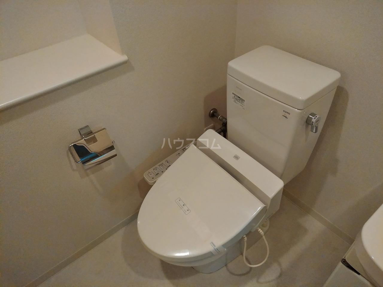 プレミアムキューブ大岡山 602号室のトイレ