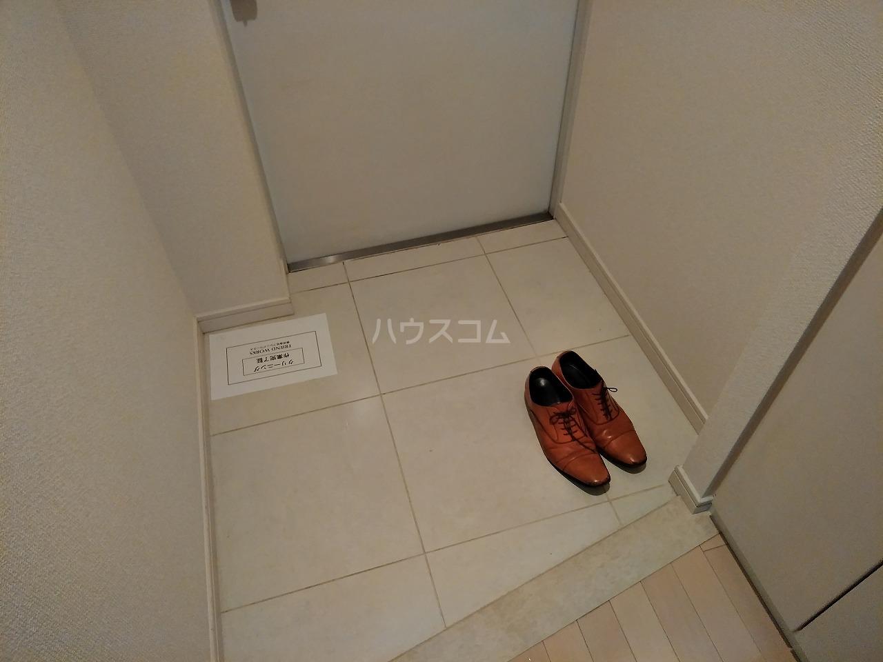 プレミアムキューブ大岡山 602号室の玄関