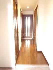 エムワン洗足 203号室の玄関