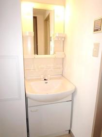 エムワン洗足 203号室の洗面所