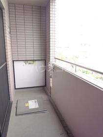 エムワン洗足 203号室のバルコニー