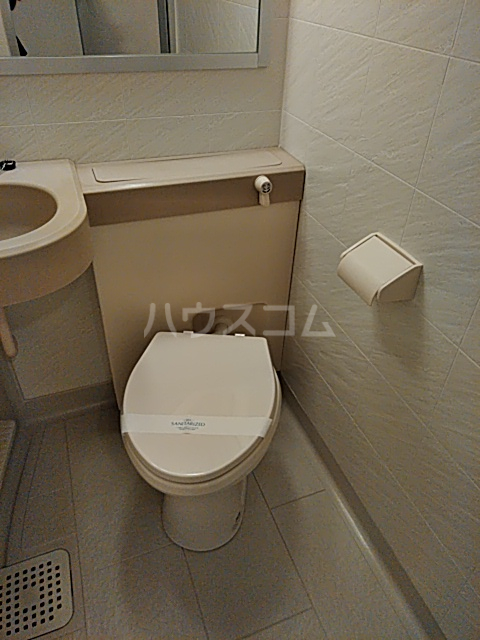 ワコーレエレガンス自由が丘 102号室のトイレ