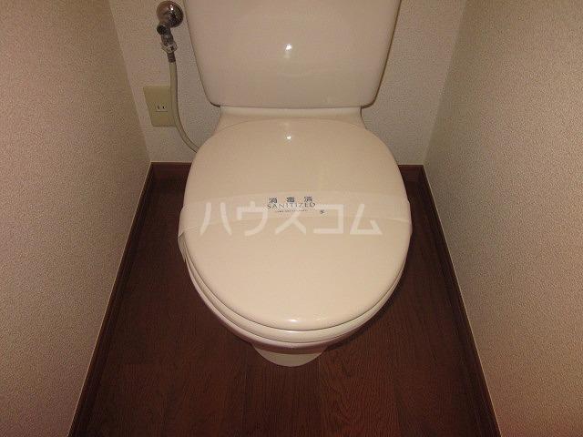 タウンハウス大岡山 205号室のトイレ