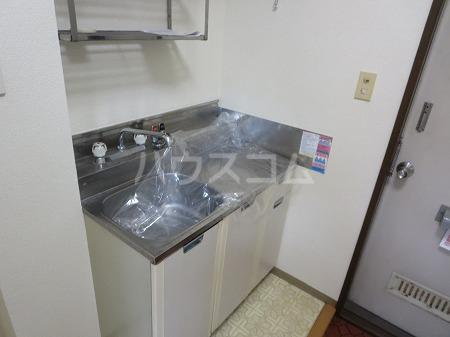 國恵ハイムE棟 103号室のキッチン