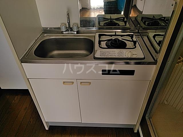 K 201号室のキッチン