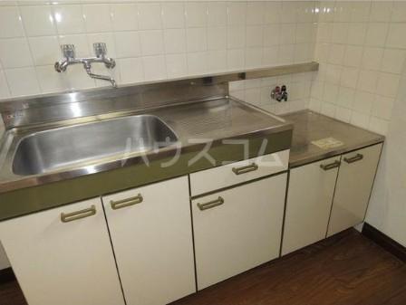 ハイムハンサム 101号室のキッチン
