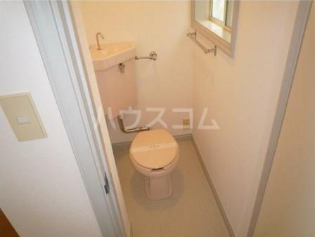 ハイムハンサム 101号室のトイレ