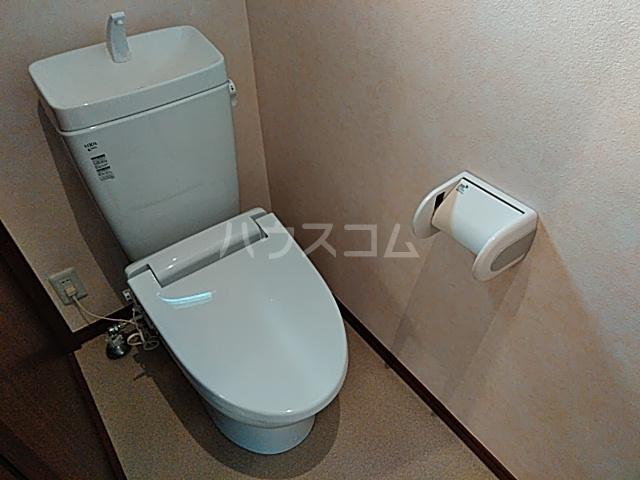 カースク大岡山 202号室のトイレ
