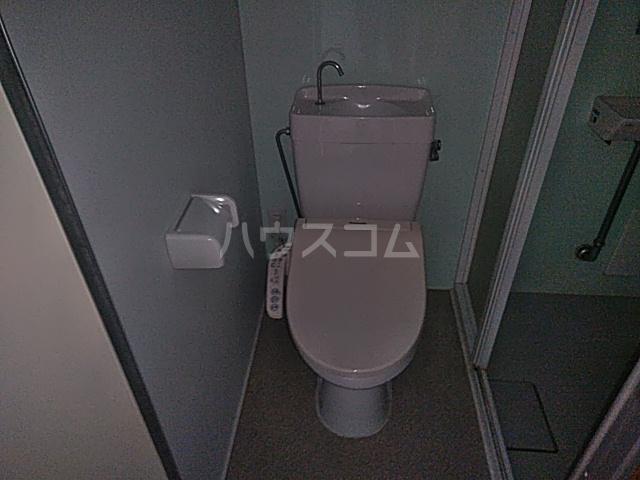 ビュー大岡山 103号室のトイレ