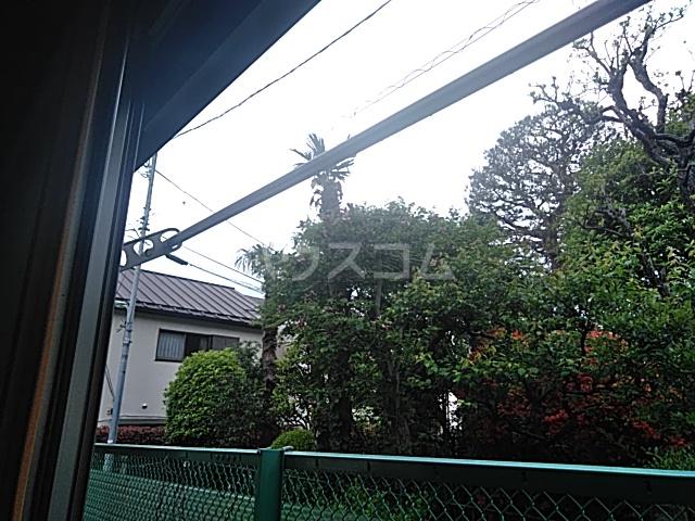ビュー大岡山 103号室のバルコニー