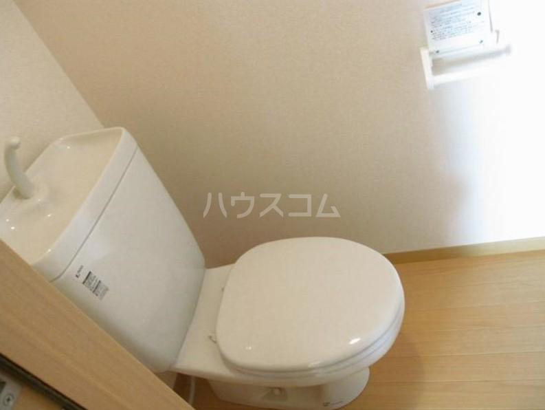 ファインイースト 102号室のトイレ