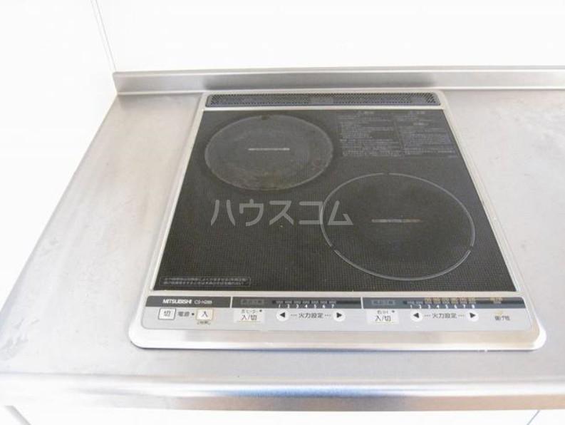 ファインイースト 102号室のキッチン
