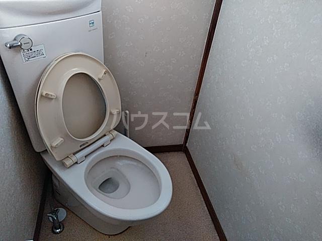 フラワーホーム 205号室のトイレ